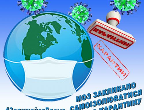 Рекомендації МОЗ щодо коронавірусу COVID-19